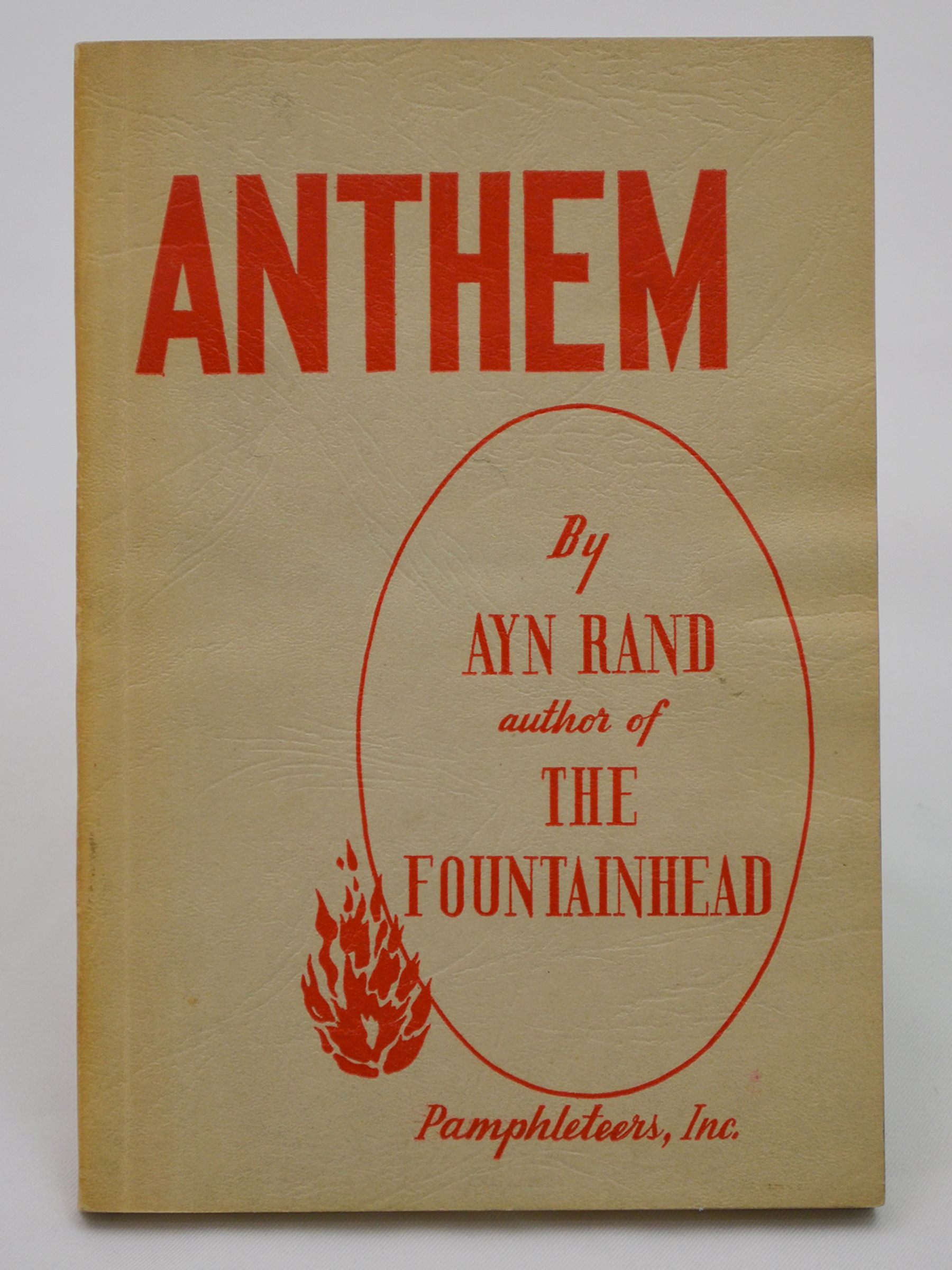 chicago atlas shrugged revolution dinner auction online anthem was first published in london in 1938 the american edition offered here was slightly revised by rand as explained in her author s foreword