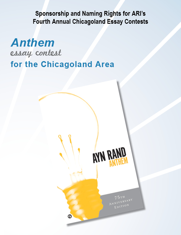 anthem essay contest past winners Fountainhead essay contest winners essay contests atlas shrugged, the fountainhead, anthem , enter an ayn rand institute essay contest for your chance to win contest winners agree to allow.
