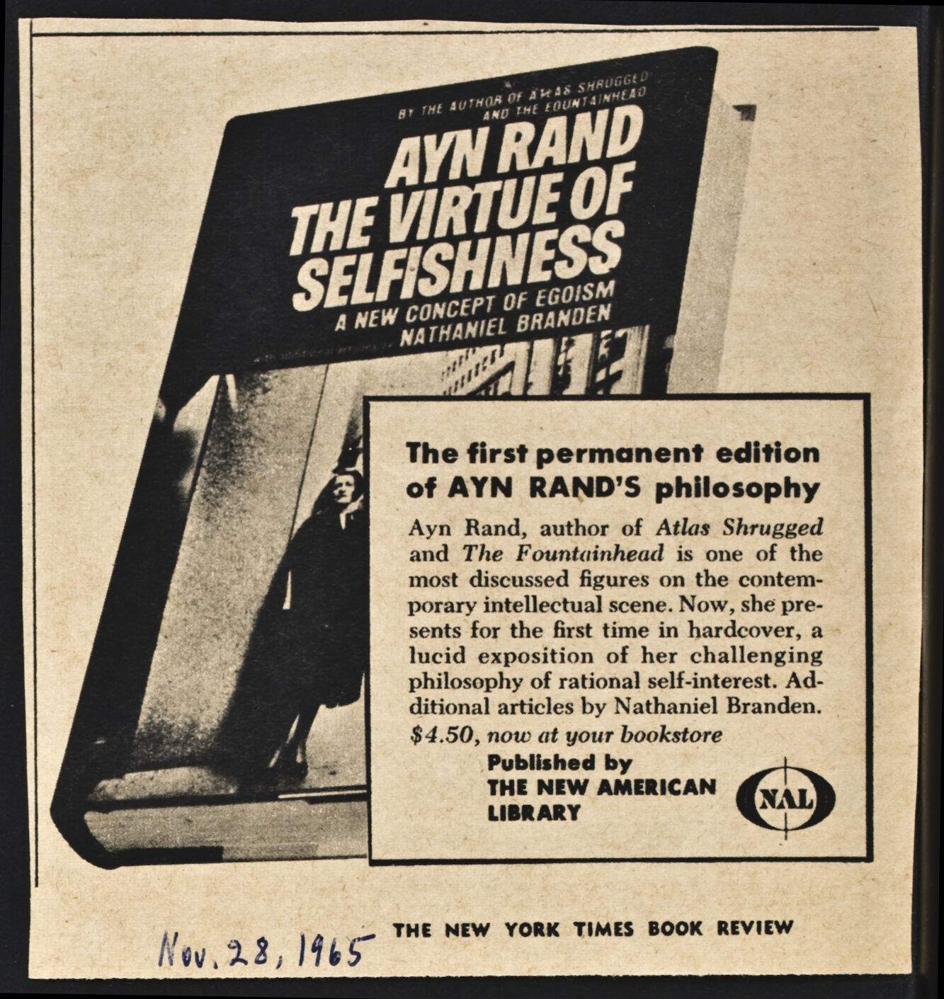 an analysis of objectivism a philosophical system developed by ayn rand